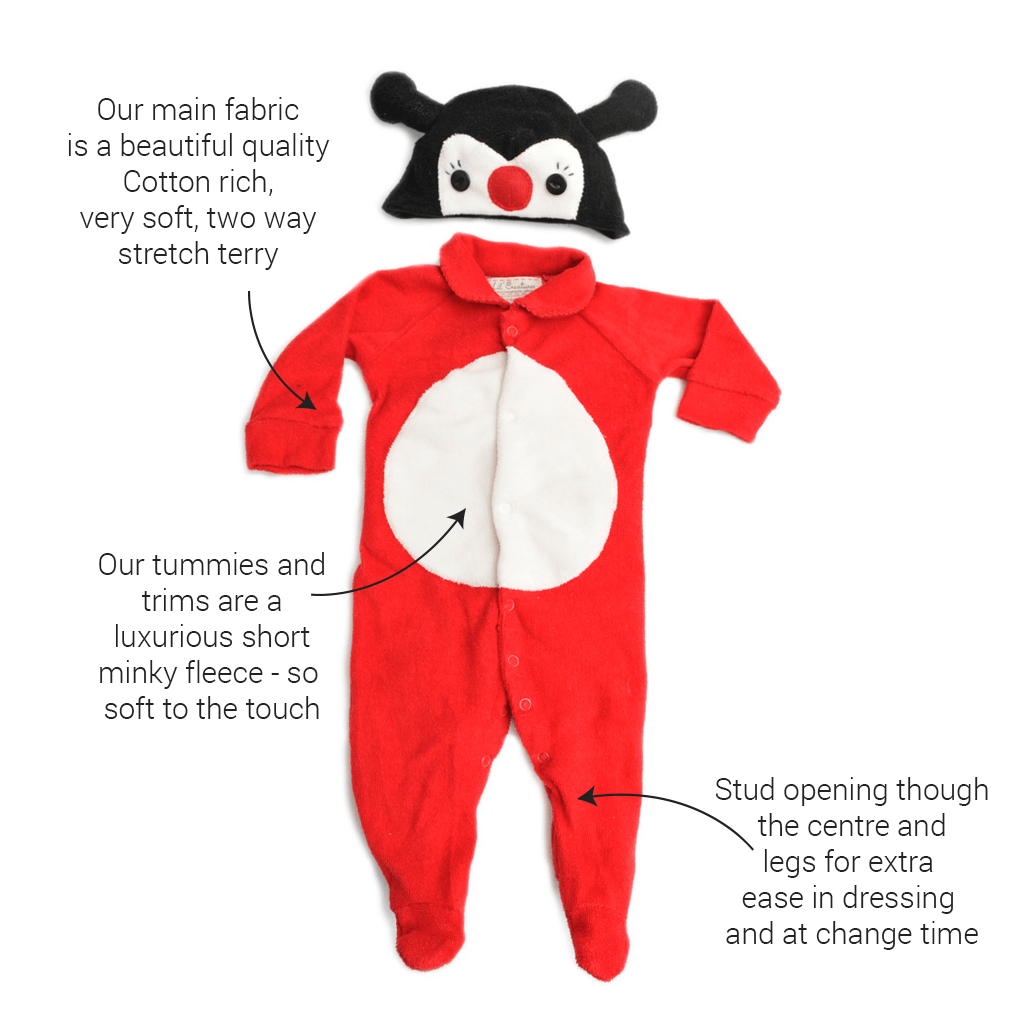 Lil' Lady Bug Baby Costume
