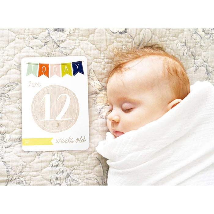 Infant Milestone Card Sets