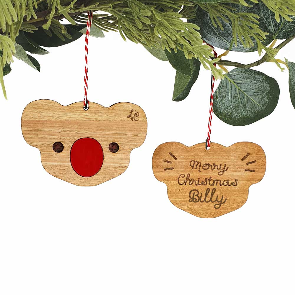 CUSTOM NAME TREE ORNAMENT