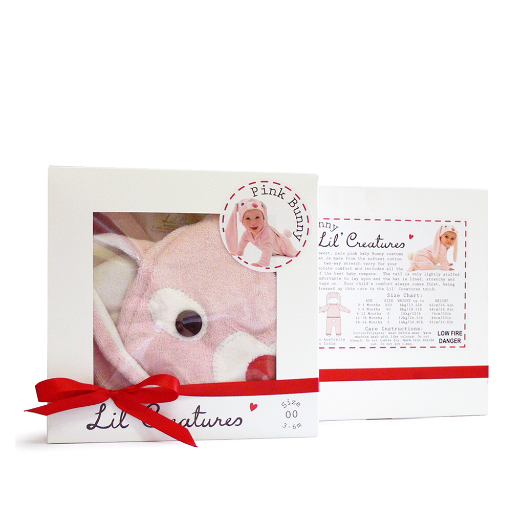 Pink Bunny Baby Gift