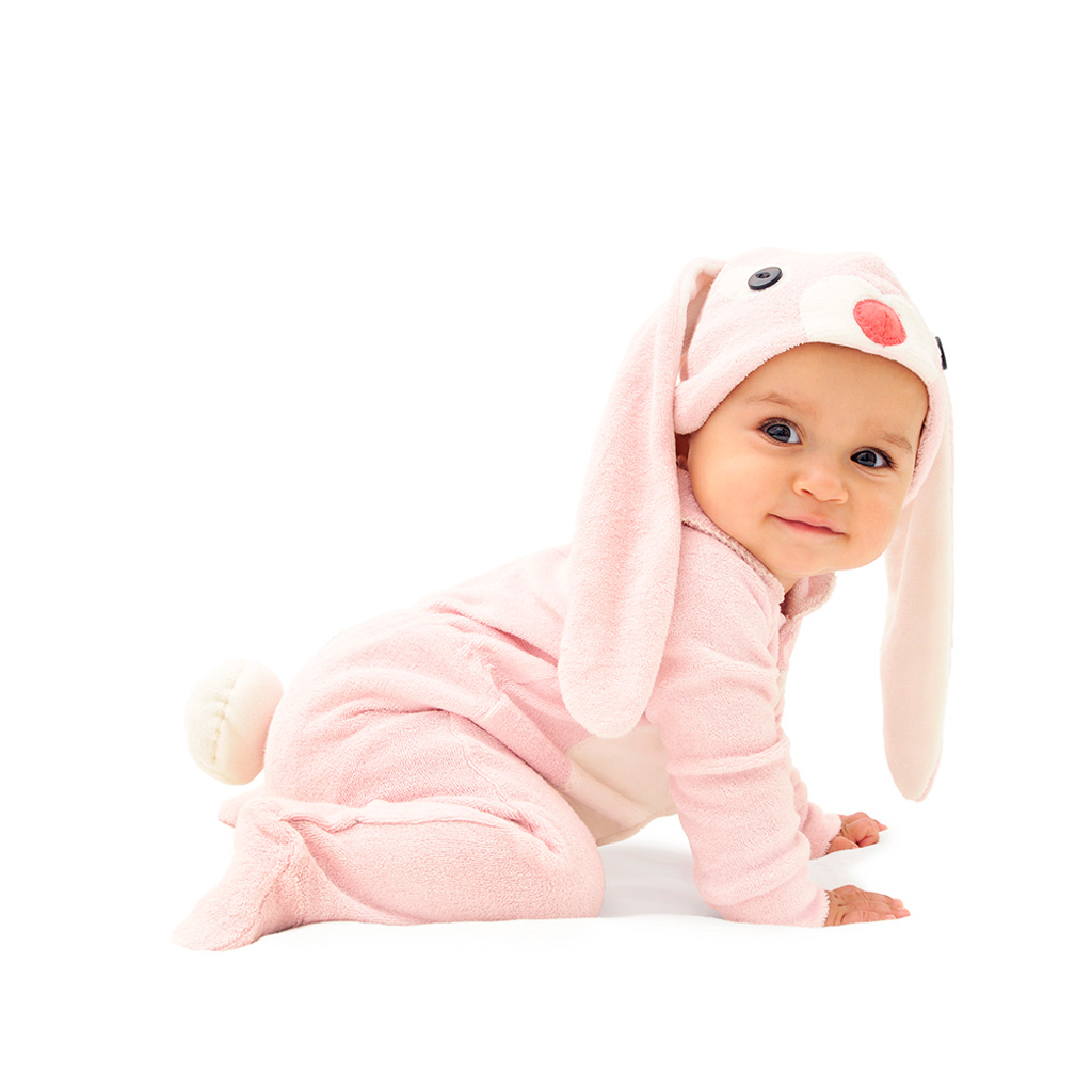 Pink Bunny Costume Features