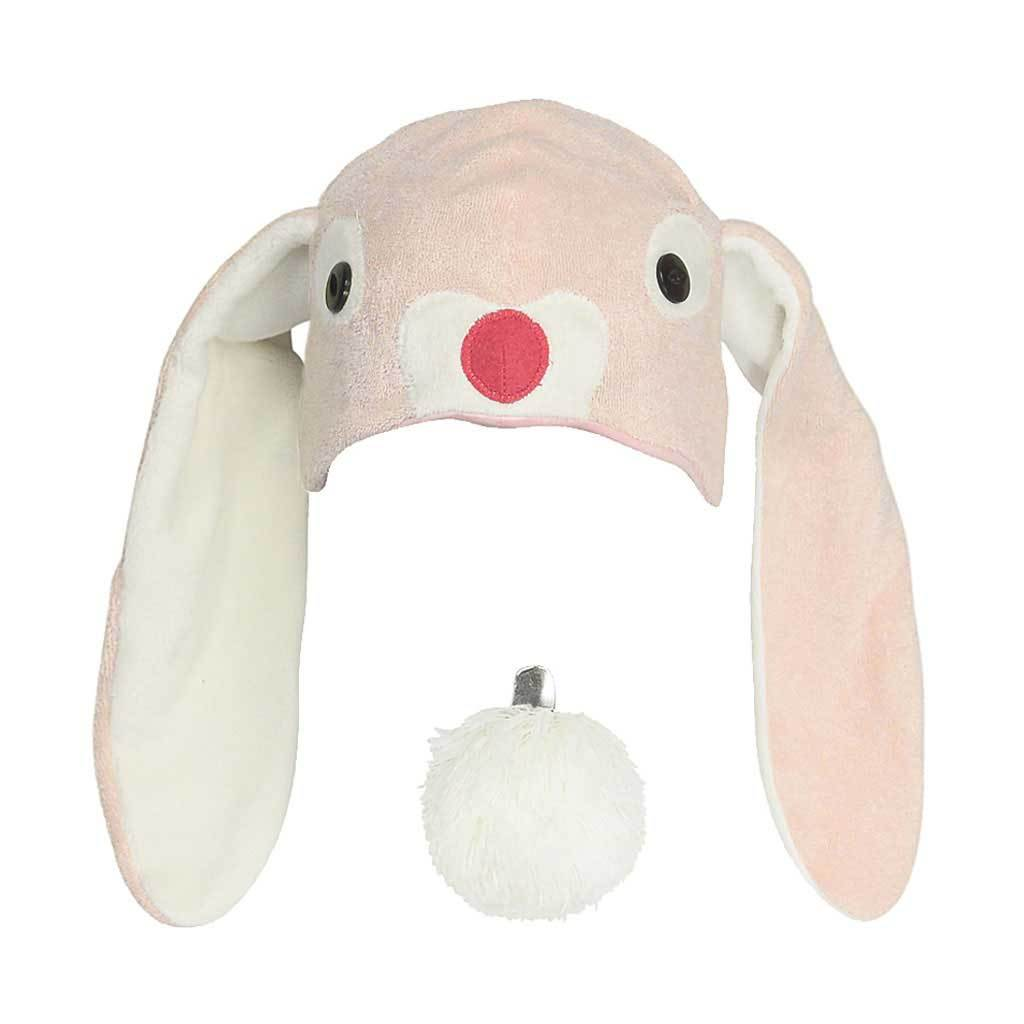 Kids Adults Bunny Hat Bunny Ears Bunny Tail Pink