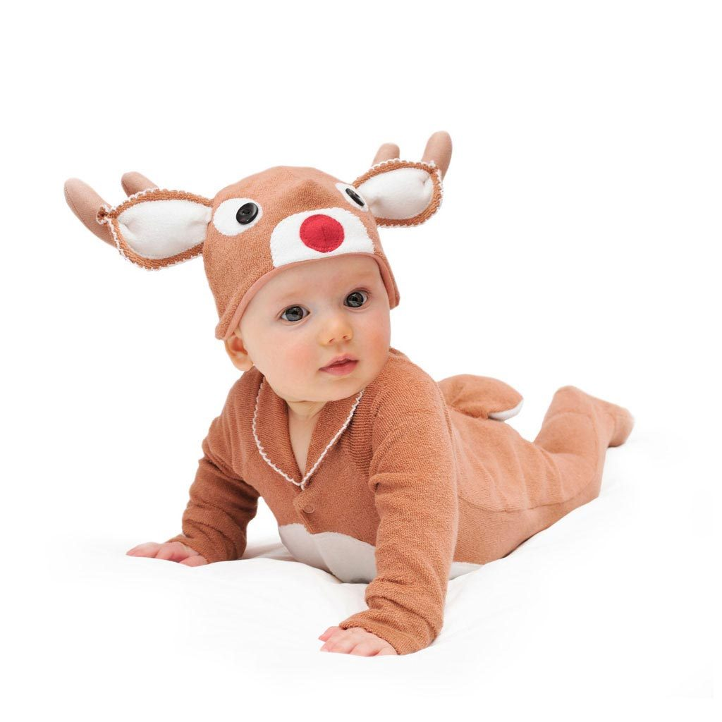 Infant Christmas Costume Reindeer Rudolf