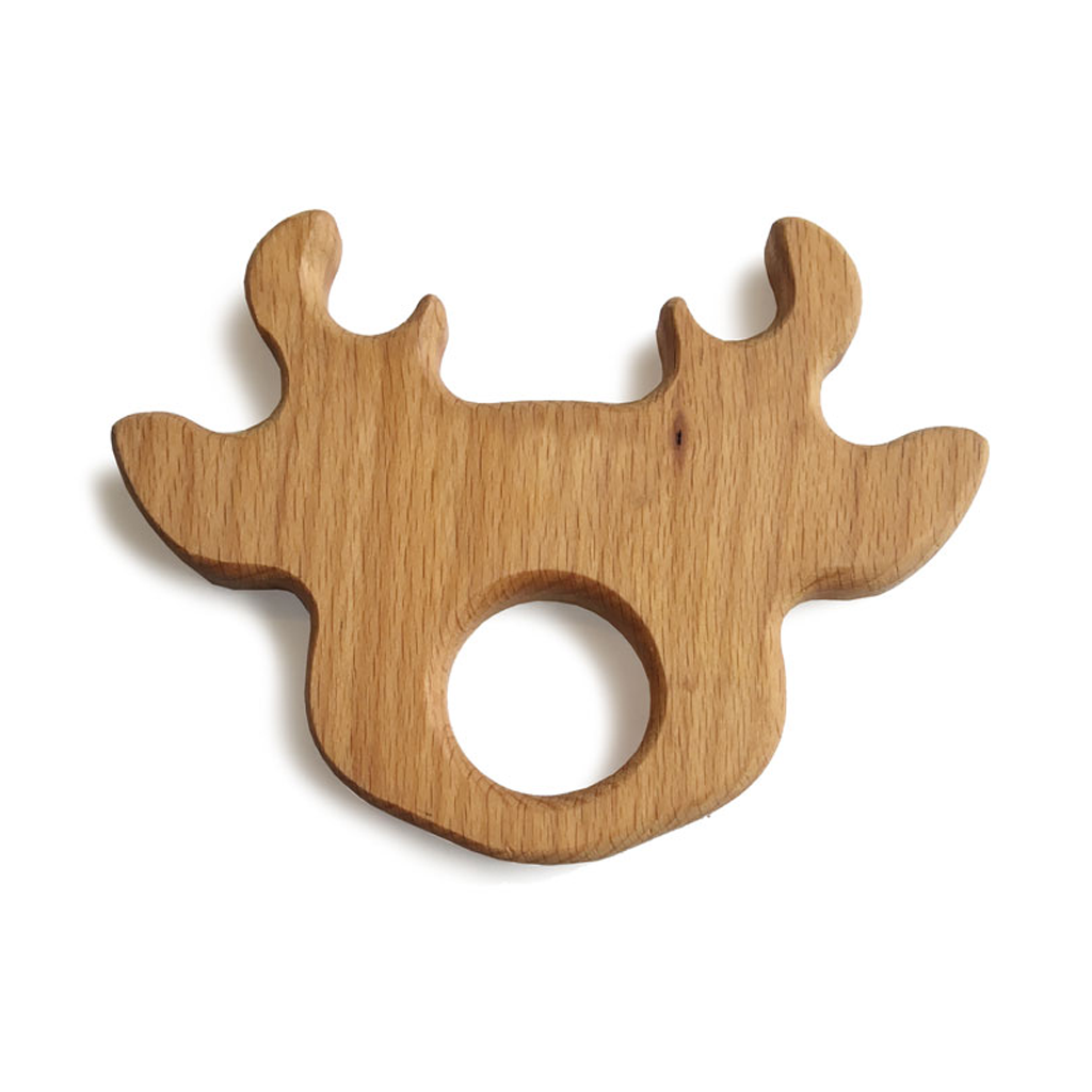 Wooden Christmas Baby Toy