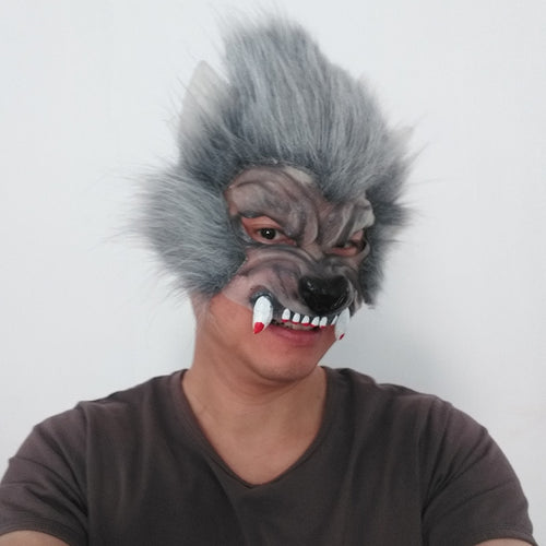 Hallowen Mask Terrorist Stimulation Decil Costume Langtou Costume Halloween Devil Mask For Party Props