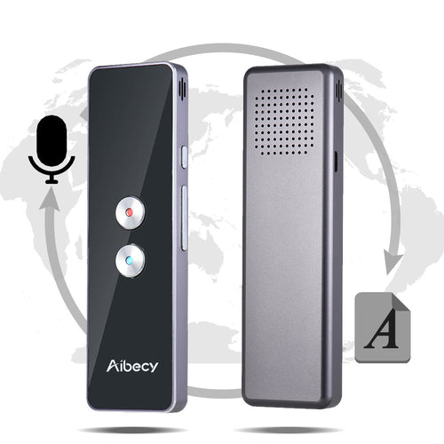 [Multi Language Translator Smart Voice Translator Multifunctional WIFI 18 Languages Real Time Business Real-Time Translator] - DAJS PROD.2.0