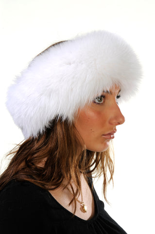 GENUINE FOX FUR HEADBAND