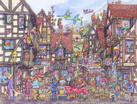 Hectic Hamlet 1000 Piece Jigsaw Puzzle