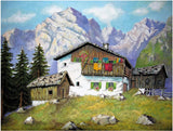 Mountain Hideaway 1000 Piece Jigsaw Puzzle