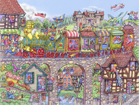 Carriage Capers 1000 Piece Jigsaw Puzzle