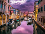An evening by the canal jigsaw puzzle