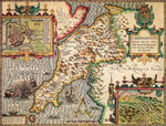 Caernarfonshire Historical Map 1000 Piece Jigsaw Puzzle (1610) - All Jigsaw Puzzles UK  - 1