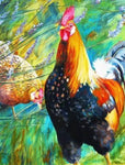 Cockerel & Hen 1000 Piece Jigsaw Puzzle - All Jigsaw Puzzles UK  - 1