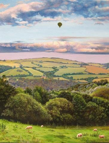 Hot Air Balloon - 1000 Piece Jigsaw Puzzle - All Jigsaw Puzzles UK  - 1