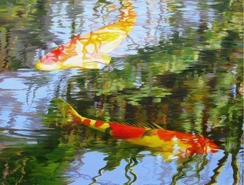 Koi Carp - 1000 Piece Jigsaw Puzzle - All Jigsaw Puzzles UK  - 1