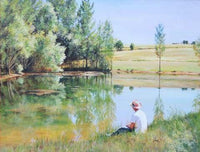 Paddy by the Lake - 1000 Piece Jigsaw Puzzle - All Jigsaw Puzzles UK  - 1