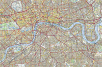 London City Map Jigsaw Puzzle 300 Piece Wooden Jigsaw Puzzle