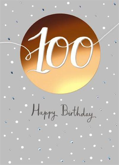 Age 100 - 100th Birthday - 100th Birthday