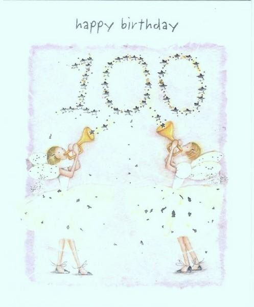 Age 100 - 100th Birthday - Fairies