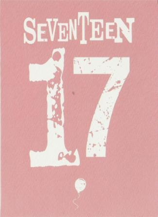 Age 17 - 17th Birthday - Seventeen Pink
