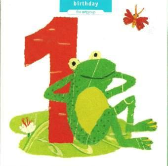 Age 1 - 1st Birthday - One Birthday Frog