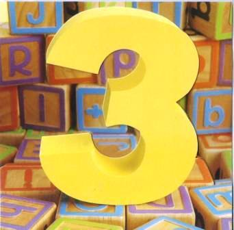 Age 3 - 3rd Birthday - Building Blocks