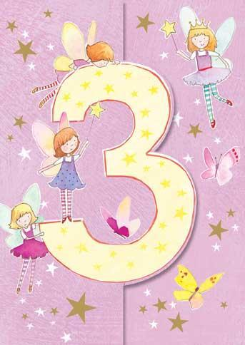 Age 3 - 3rd Birthday - Fairies