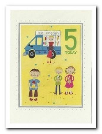 Age 5 - 5th Birthday - Ice-cream Van