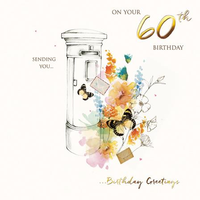 Age 60 - 60th Birthday - Postbox
