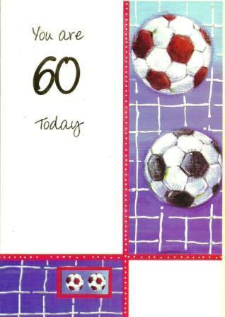 Age 60 - 60th Birthday - Footballs