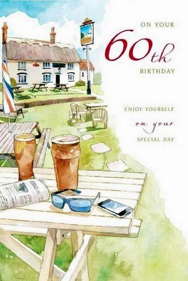 Age 60 - 60th Birthday - Country Pub