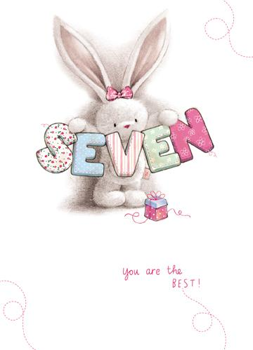 Age 7 - 7th Birthday - Bebunni Seven