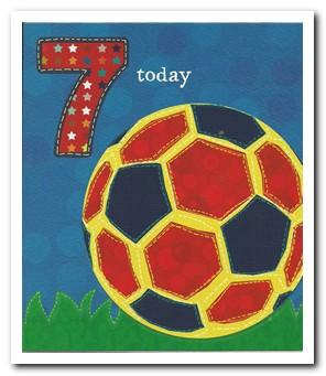 Age 7 - 7th Birthday - Just Kids Football