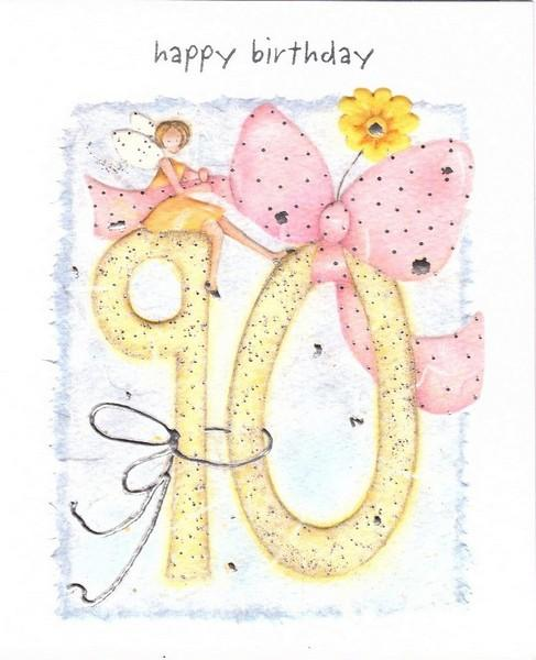 Age 90 - 90th Birthday - Birthday Fairy