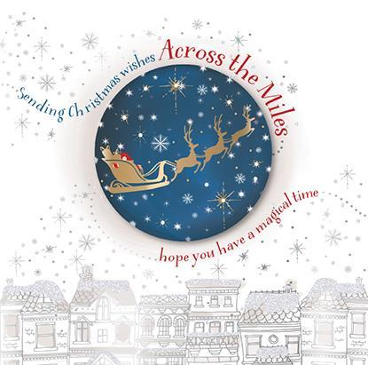 Christmas Card - Across The Miles - Flying Through The Skies