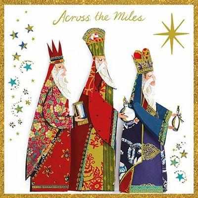 Christmas Card - Across The Miles - Three Kings