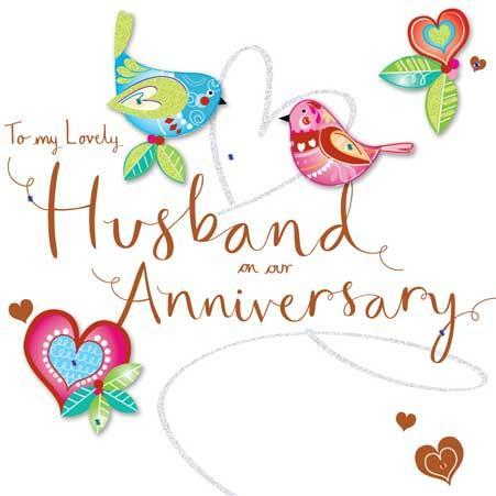 Anniversary Card - Husband -
