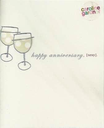 Anniversary Card - Our Anniversary - Sexy