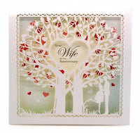Anniversary Card - Wife Anniversary - Tree Of Life