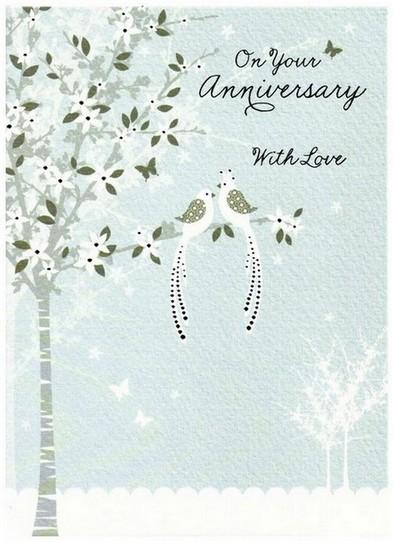 Anniversary Card - Your Anniversary - Ever After