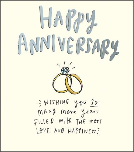 Anniversary Card - Your Anniversary - Rings