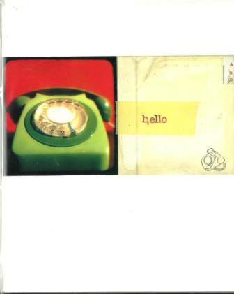 Thinking Of You Card - Hello