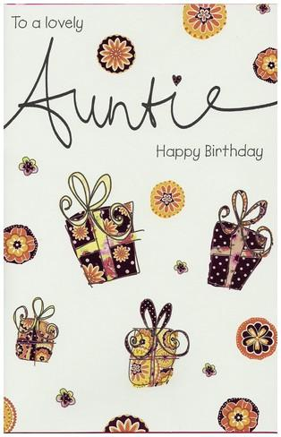 Auntie Birthday - Parcels