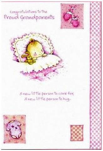 New Baby Card - Baby Grandchild - A New Little Person