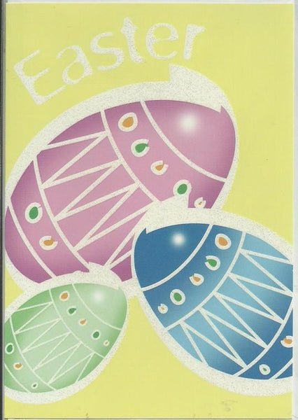 Easter Card - Easter Eggs