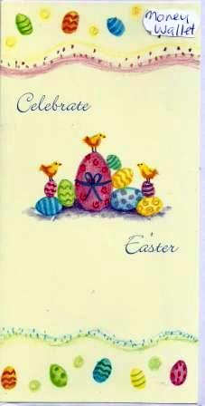 Easter Card - Money Wallet