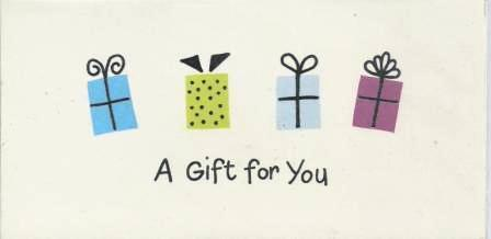 Gift Card - 4 Presents