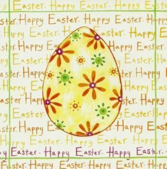 Easter Cards - Pack of 4 - Easter Egg