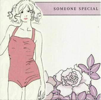 Birthday Card - Someone Special - Girl in Swimming Costume