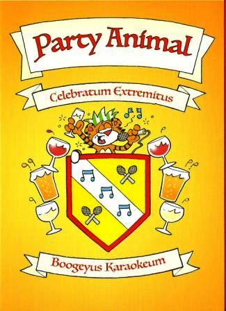 Humour Card - Party Animal